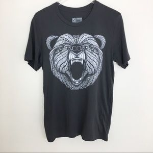 NWOT Curbside tribal Bear graphic Print Unisex M